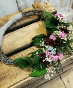 Aro para novias rústico